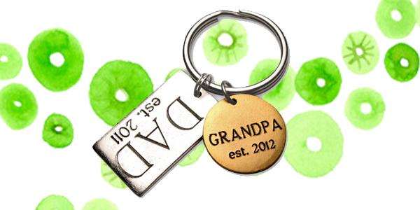 Dad Keychain Grandpa Keychain